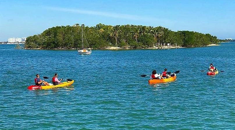 Paddling Day Tour of Biscayne Bay Aquatic Preserve in Miami