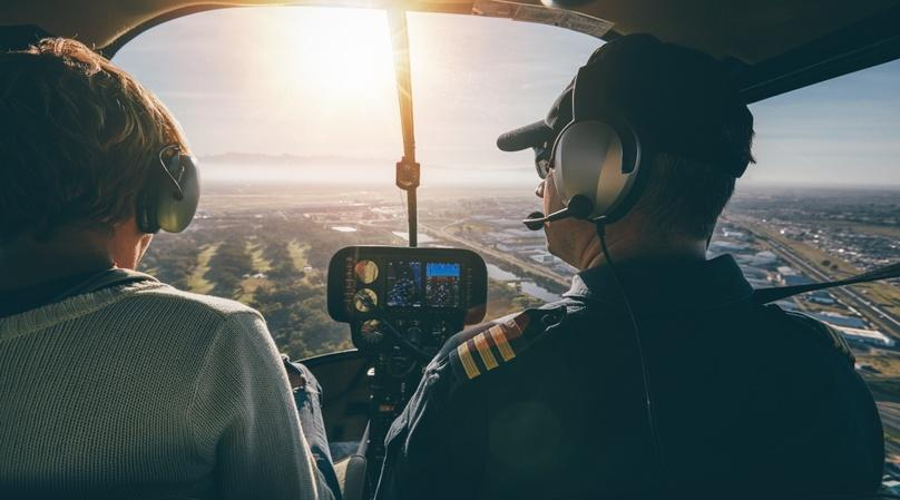 30-Minute Helicopter Flying Lesson over New York