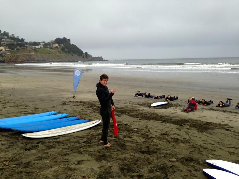 Two-Hour Group Surf Lesson at Pacifica State Beach