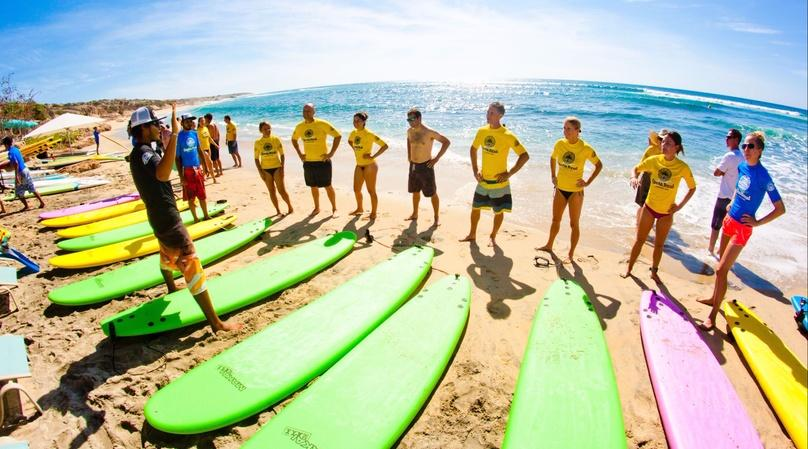 Two-Hour Surf Lesson in Cabo & Cerritos
