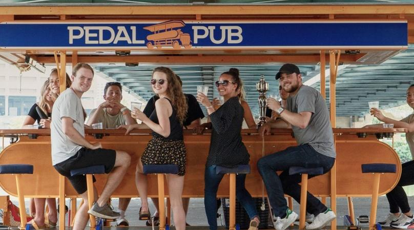 Downtown Brewery Pedal Pub Tour