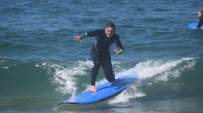 2-Hour Private Surfing Lesson in San Diego