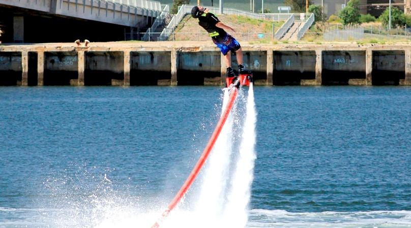 One-Hour Flyboarding Lesson in Boca Raton