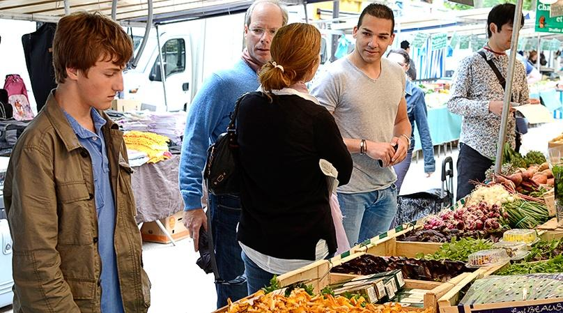Guided Parisian Market Tour and Cooking Class