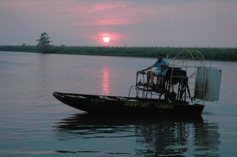Lake Jesup One Hour Night Airboat Ride