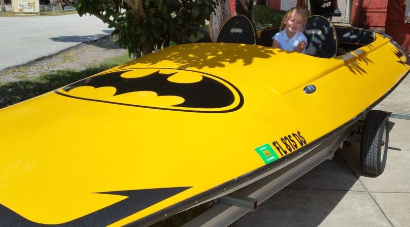 Batmobile Boat Rental on Rose Bay