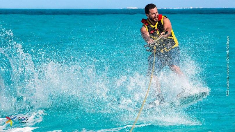 Private Water Sports Boat Tour in Cancun