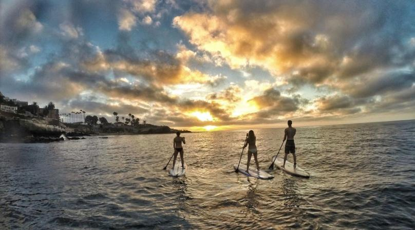 Full-Day Mission Bay Soft Top (Foam) SUP Rental
