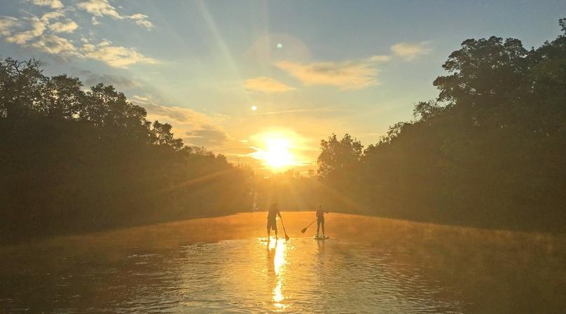 4-Mile Private Asheville Paddleboard Tour