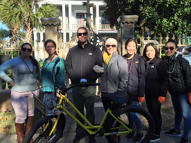 New Orleans Garden District and French Quarter Bike Tour