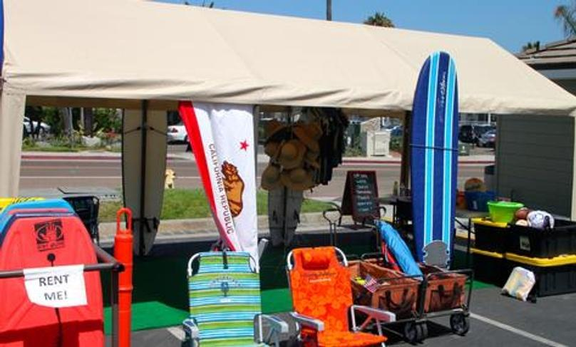 Foam Longboard Full Day Rental in Del Mar