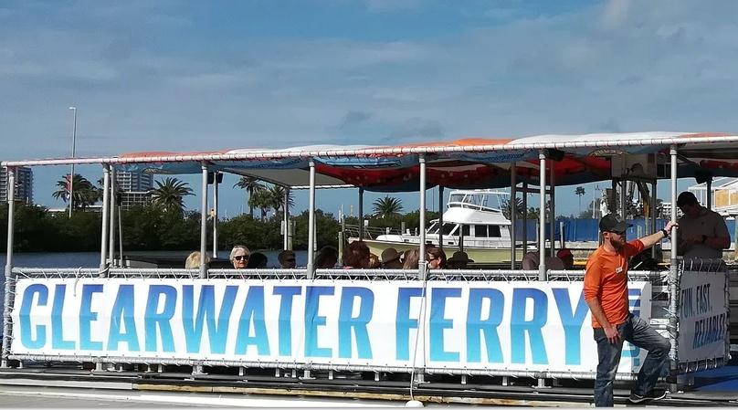 Dunedin to Clearwater Beach Ferry Ride