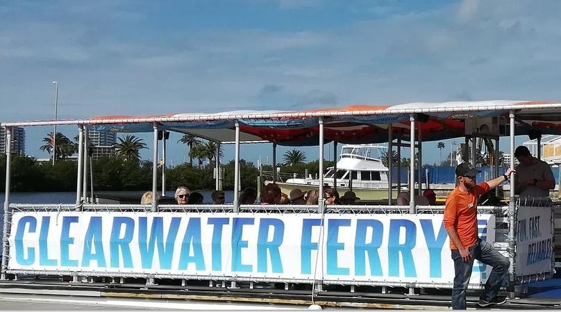 Dunedin to Clearwater Beach Ferry Ride
