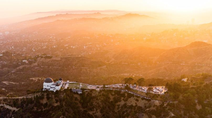 60-Minute Sunset Helicopter Tour from Fullerton