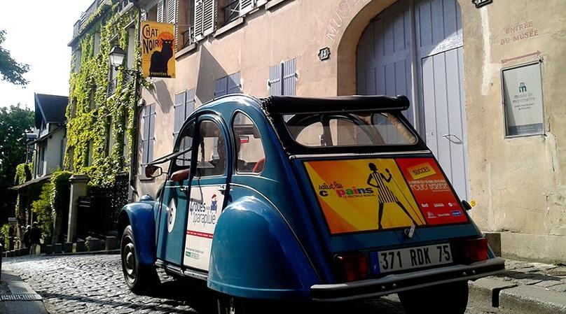 Unexpected Ride in Paris