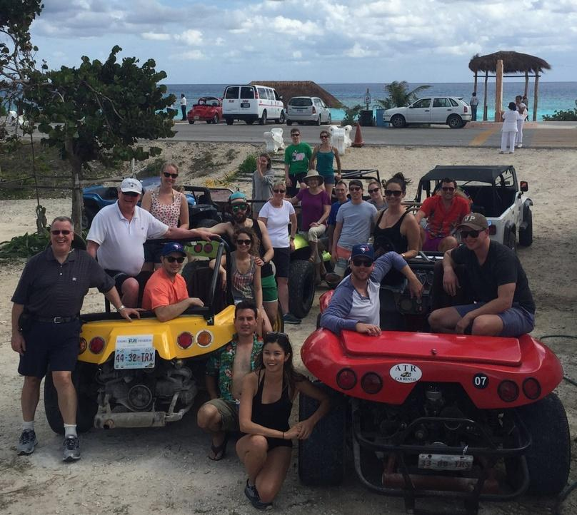 Cozumel Buggy Tour with Snorkel & Lunch