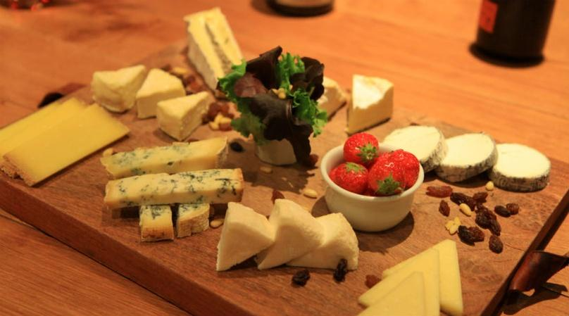 French Wine and Cheese Lunch