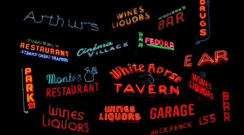 Tour of West Village Vintage Neon Signs