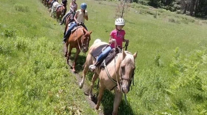 1-Hour Sierra Horseback Ride