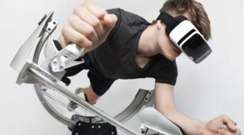 3 Rides at Virtual Reality Park