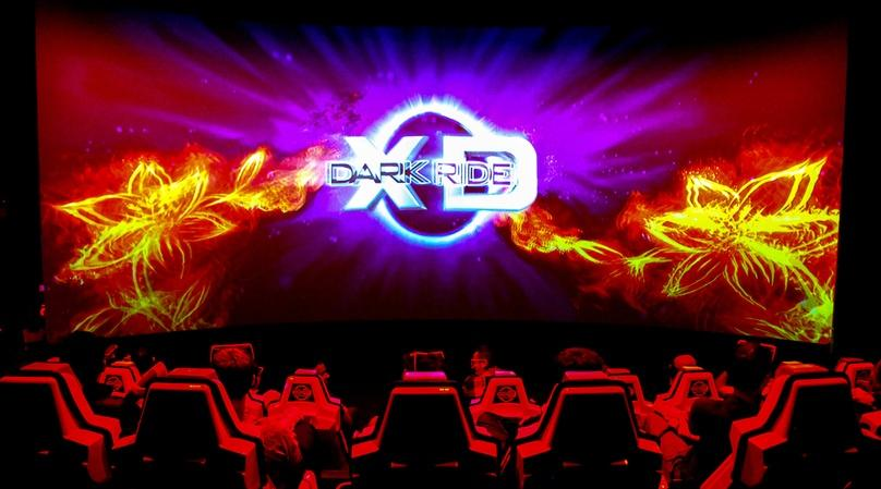 Dark Ride Laser Stimulation Game