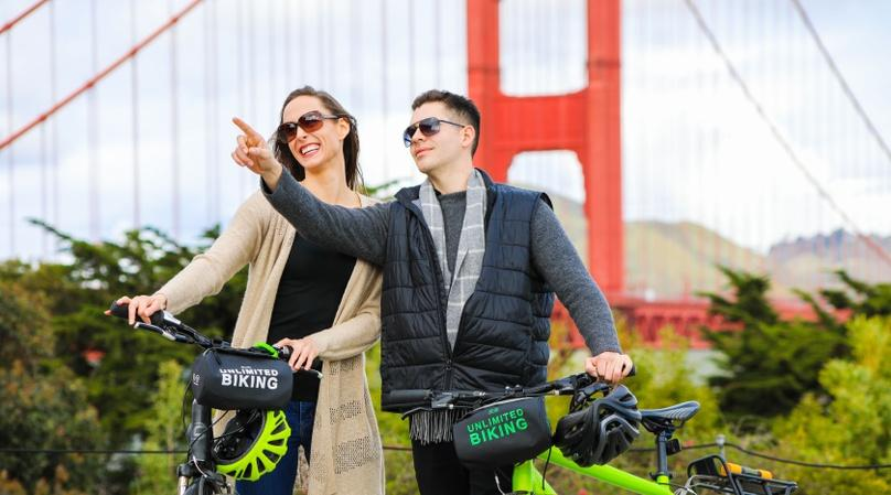 Golden Gate Bridge Bike Rental
