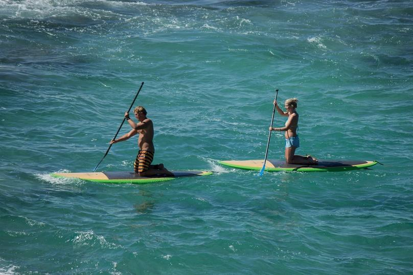 Private Group Stand-Up Paddleboard Lesson in Redondo Beach