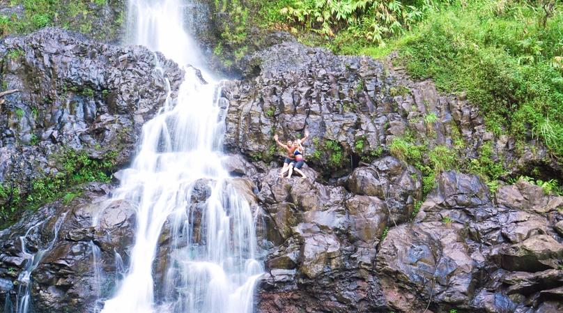 Waterfall Hiking Adventure in Wailea