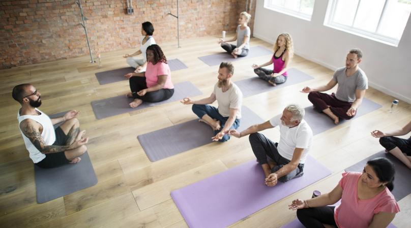 Springdale Taproom Yoga in Framingham
