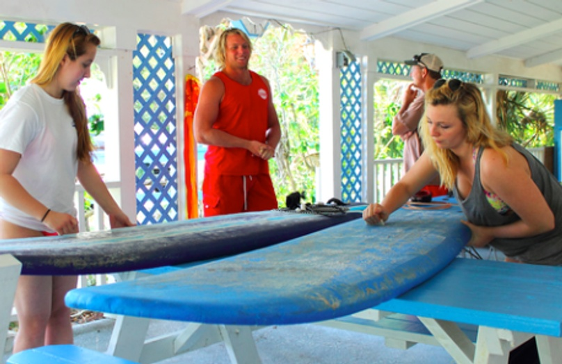 Private Surf Lessons in the Sebastian Inlet
