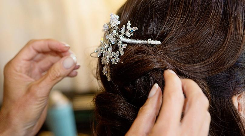 One-Hour On-Location Hair or Makeup Session in San Francisco