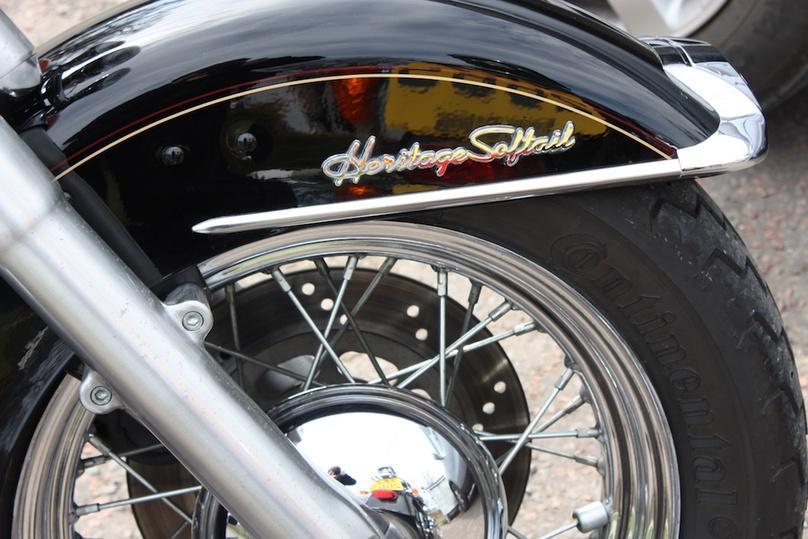 Harley Davidson Heritage Softail Tour of Cozumel