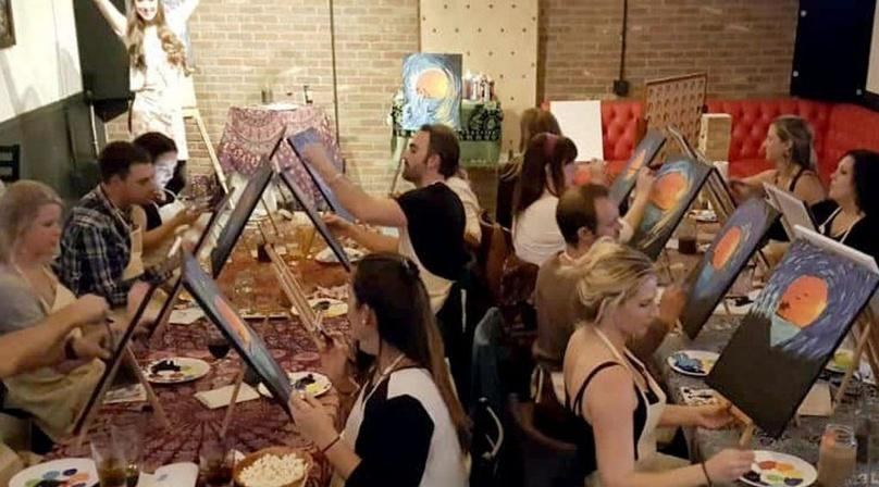 Canvas and Cannabis Paint Class in National City
