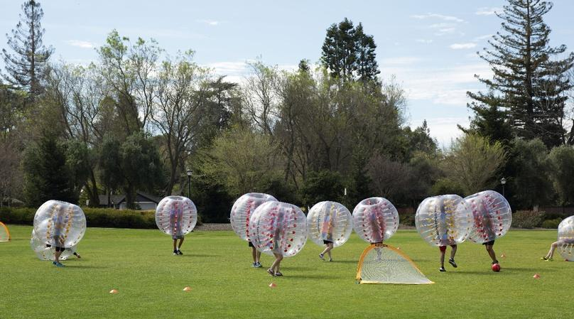 San Diego One Hour Bubble Soccer Event