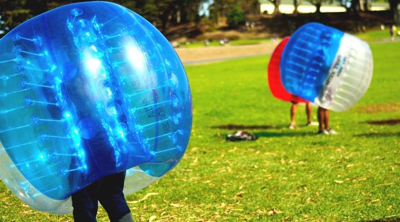Three-Hour Bubble Soccer Game in San Diego