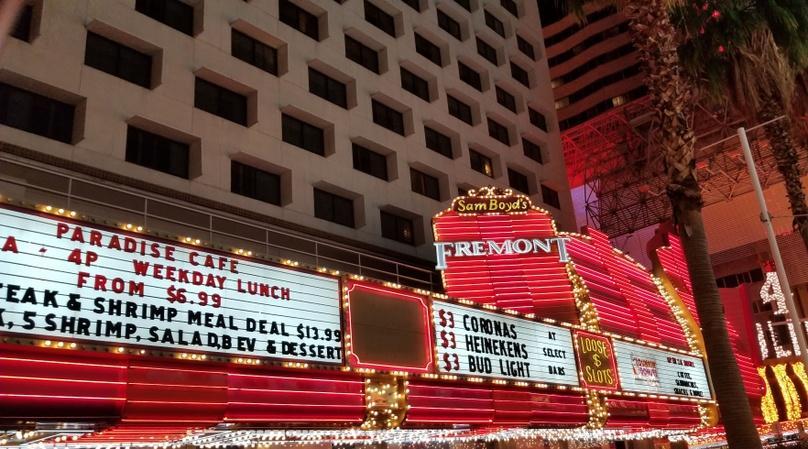 Nighttime Slingshot Tour of the Las Vegas Strip