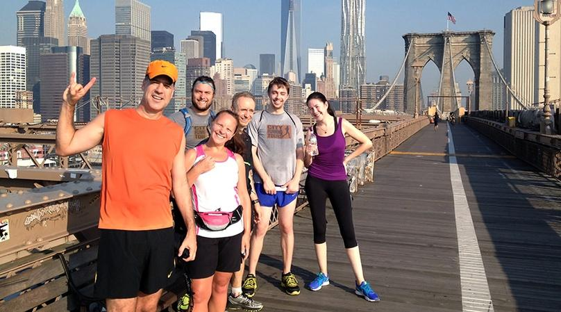 Brooklyn Bridge Running Tour in Manhattan