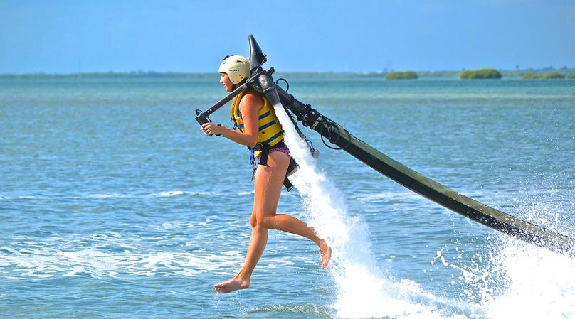 Water Jetpack Flight and Lesson in Cancun