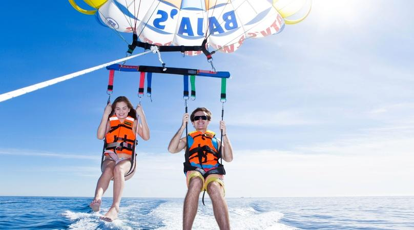Parasailing Adventure in Cabo San Lucas