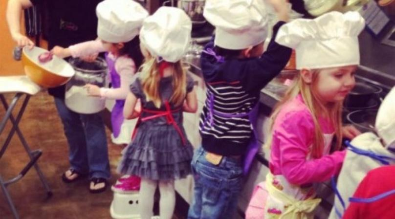 Noontime Cooking Party for Kids in La Jolla