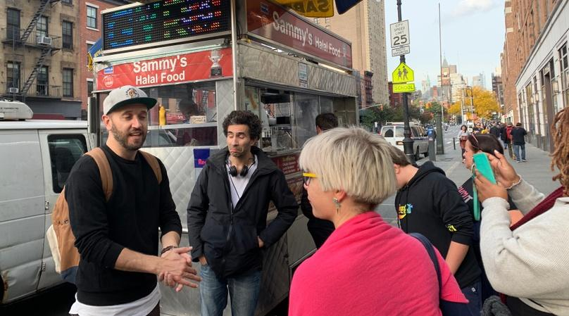 Sandwich Tour in NYC