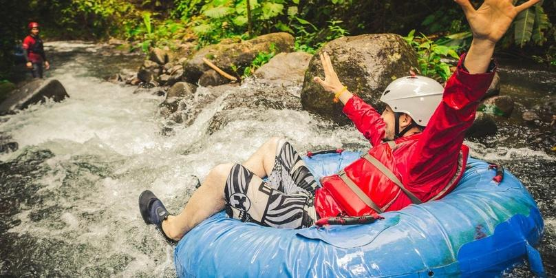 Zipline and Rafting Adventure in Arenal Park
