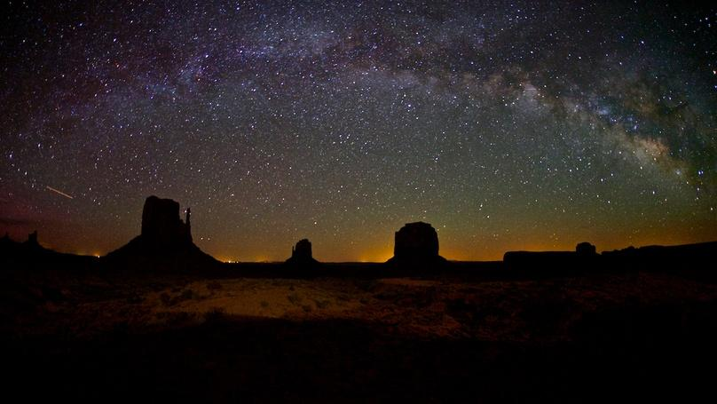 Starlight Tour of Monument Valley