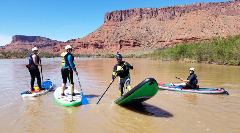 Half-Day Guided Stand-Up Paddle Trip in Moab