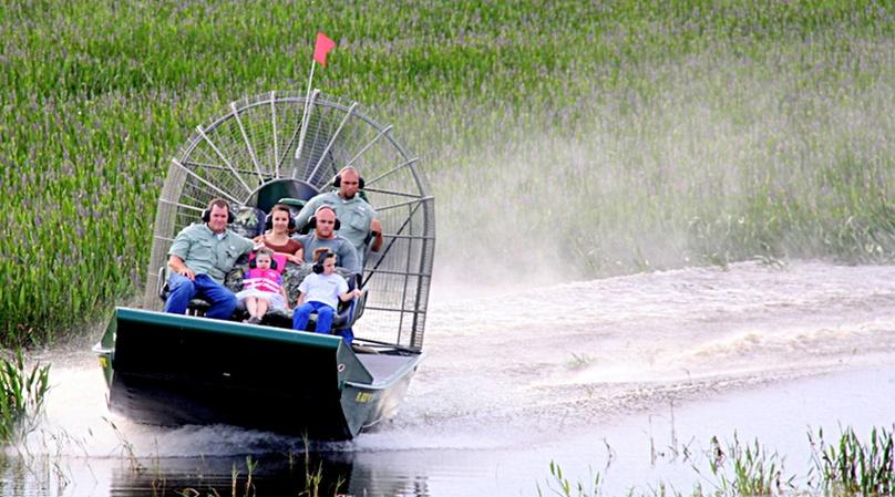 One Hour Everglades Lake Cypress Airboat Tour