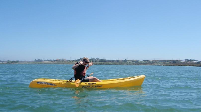 Single Sit-On-Top Kayak Rental in Safety Harbor