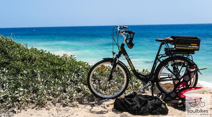 E-bike Tour to Isla Mujeres