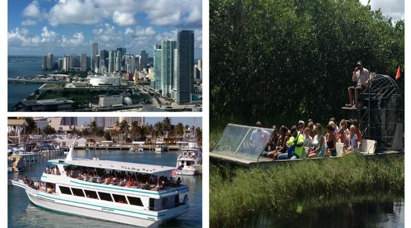 Guided Tour of Miami, Biscayne Bay & the Everglades