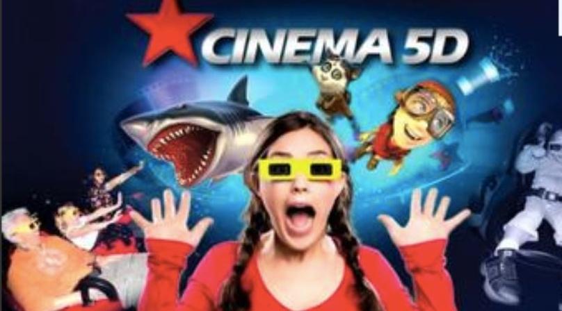 Virtual Realty 5-D Cinema Experience