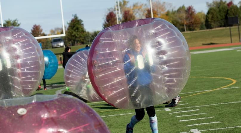 Two-Hour Bubble Soccer Package in Los Angeles